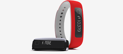 iFit Vue Crimson - The Color of Strength.