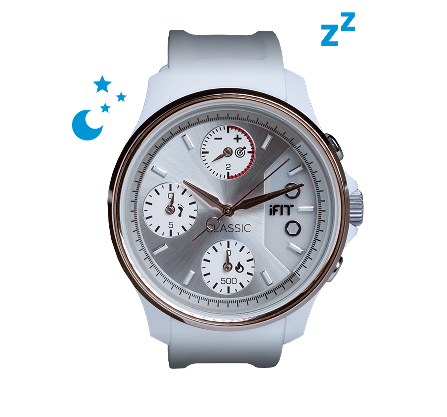 iFit Classic — Track your light and deep sleep.