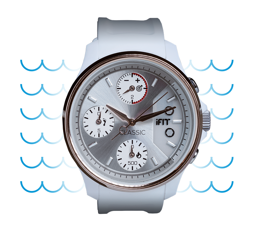 iFit Classic — Water-resistant fitness tracking.