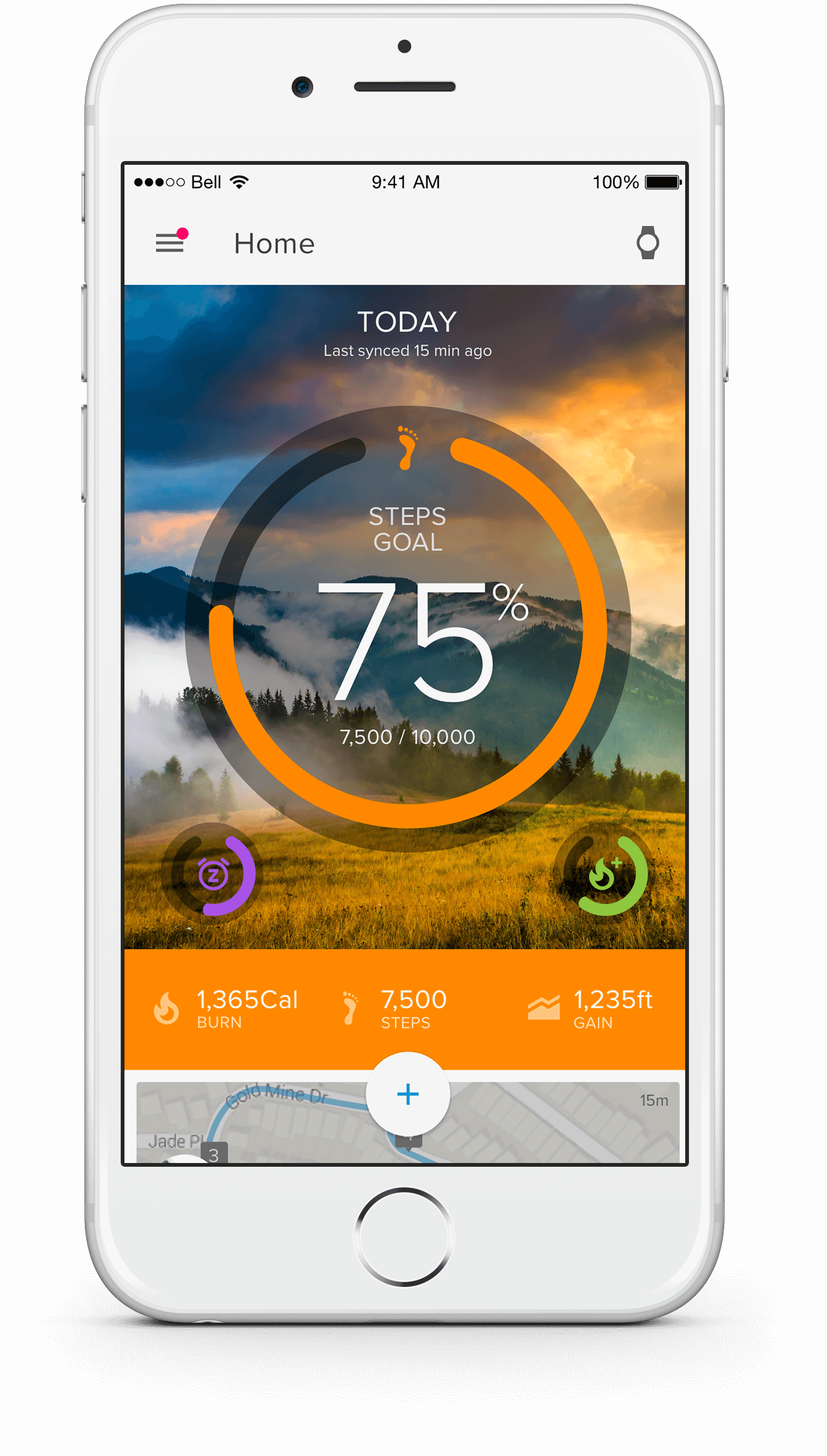 iFit Link — Track your stats with ease.