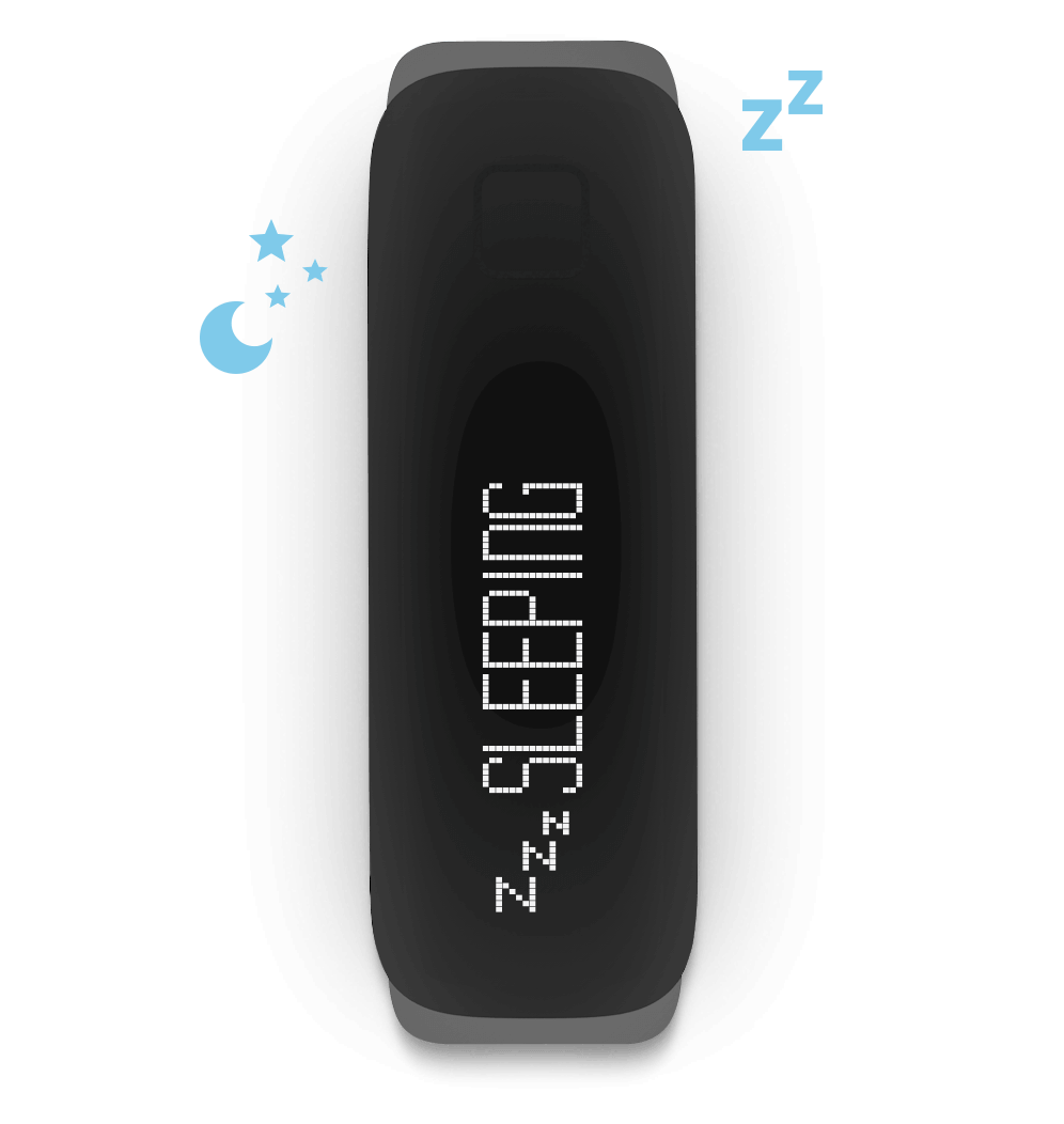 iFit Vue — Track your light and deep sleep.