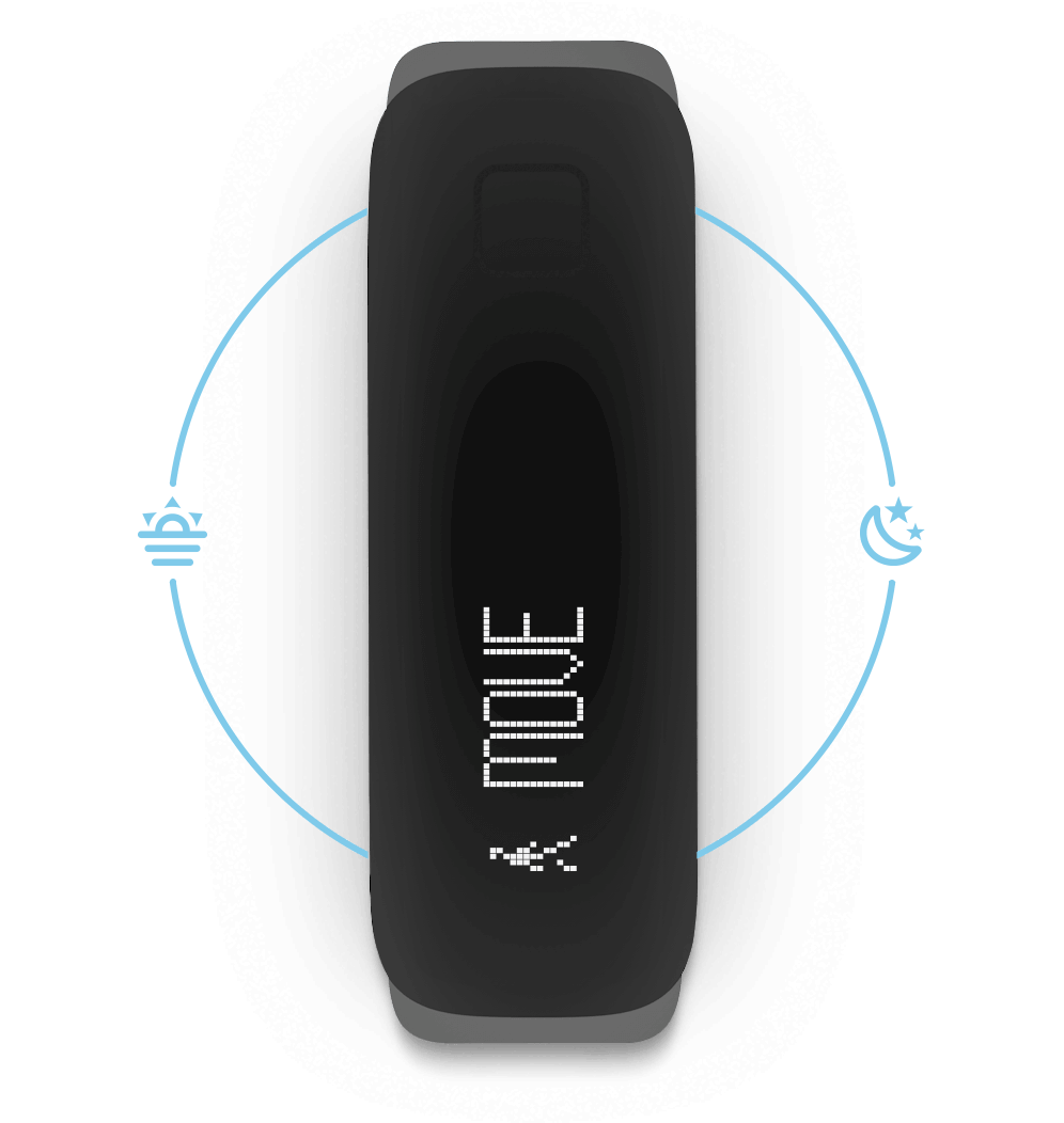 iFit Vue — Automatic sleep tracking.