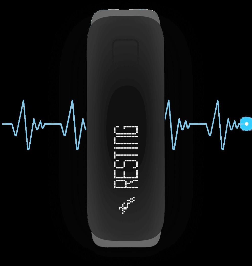 iFit Vue — BLE chest strap compatible.