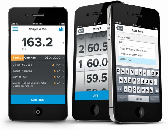Lose calories and weight with the running app