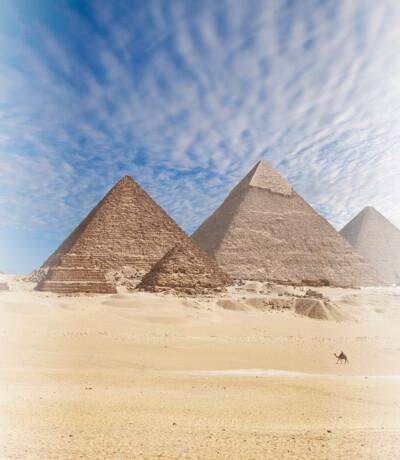 Pyramids of Giza, El Giza Egypt