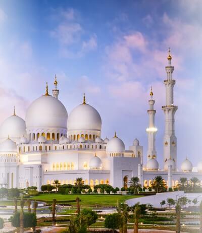 Sheikh Zayed Grand Mosque, Abu Dhabi UAE